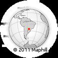 Outline Map of Minga Pora