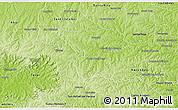 Physical 3D Map of Naranjal