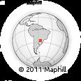 Outline Map of Naranjal