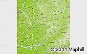 Physical Map of Rio Alto Parana