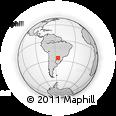 Outline Map of Rio Alto Parana