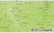 Physical 3D Map of San Alberto