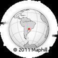 Outline Map of San Alberto