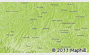 Physical 3D Map of San Cristobal