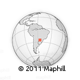 Outline Map of San Cristobal