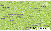 Physical 3D Map of Yguazu
