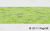Physical Panoramic Map of Yguazu