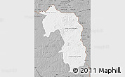 Gray Map of Amambay