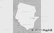 Gray Map of Boqueron