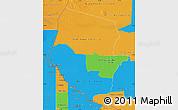 Political Map of Boqueron