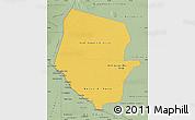 Savanna Style Map of Boqueron