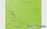 Physical 3D Map of Pedro P. Pena