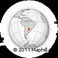 Outline Map of San Jose De Los Arroyos