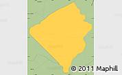 Savanna Style Simple Map of San Jose de los Arroyos