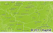 Physical 3D Map of Fulgencio Yegros