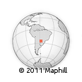 Outline Map of Capiata