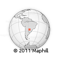 Outline Map of Ita