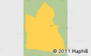 Savanna Style Simple Map of Itaugua