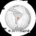 Outline Map of J. A. Saldivar