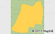 Savanna Style Simple Map of J. A. Saldivar