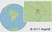 Savanna Style Location Map of Lago
