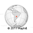 Outline Map of Limpio