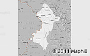 Gray Map of Central