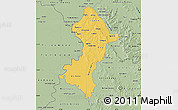 Savanna Style Map of Central