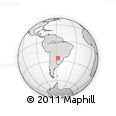 Outline Map of Central