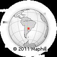 Outline Map of Villeta