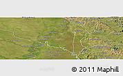 Satellite Panoramic Map of Villeta