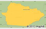 Savanna Style Simple Map of Itacurubi de la Cordiller