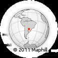 Outline Map of Borja