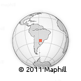 Outline Map of Guaira