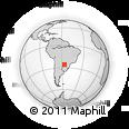 Outline Map of Villarica