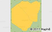 Savanna Style Simple Map of Yataity