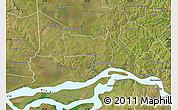 Satellite Map of Coronel Bogado