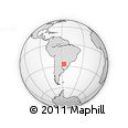 Outline Map of Ayolas