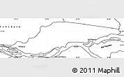 Blank Simple Map of Ayolas