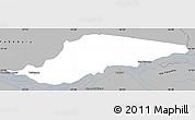 Gray Simple Map of Ayolas