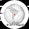 Outline Map of San Ignacio