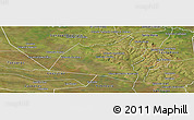 Satellite Panoramic Map of San Ignacio