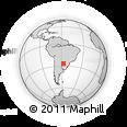 Outline Map of San Juan Bautista