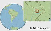 Savanna Style Location Map of Villa Florida