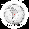 Outline Map of Alberdi