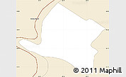 Classic Style Simple Map of Alberdi