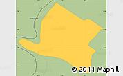 Savanna Style Simple Map of Alberdi