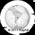 Outline Map of Cerrito