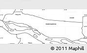 Blank Simple Map of Cerrito