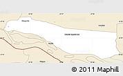 Classic Style Simple Map of Cerrito